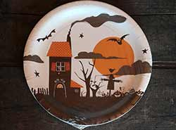 Halloween Paper Plates - 10.25 inch