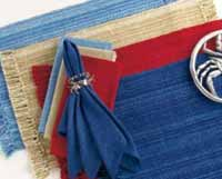 Coastal Napkin - Nautical Reds