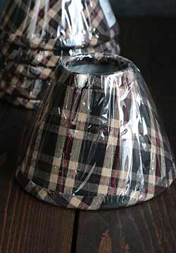 Penneyhill Plaid Lamp Shade - 6 inch