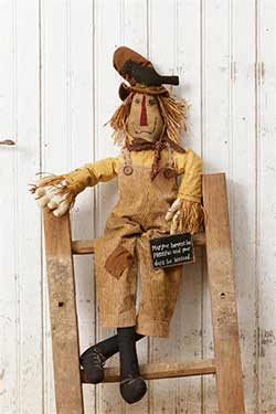 Plentiful & Blessed Scarecrow Doll