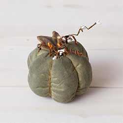 Green Fabric Pumpkin
