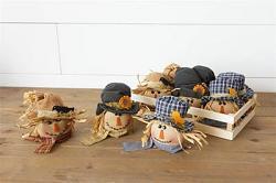 Scarecrow Head Ornament