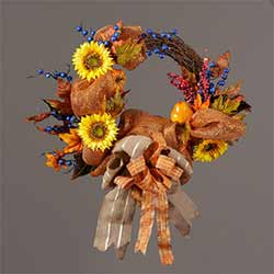 Harvest Fall Wreath