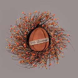 Fall Blessings Twig & Pip Berry Wreath