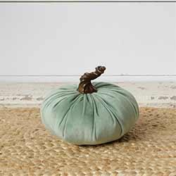 Sage Velvet Pumpkin