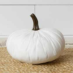 White Velvet Pumpkin