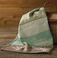 Lake House Jacquard Dishtowel