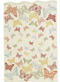 Butterfly Print Dishtowel