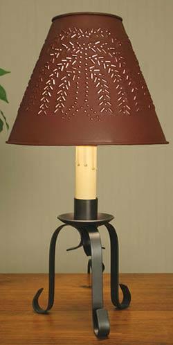 Scroll Desk Lamp Base