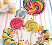 Small Lollipop Candle