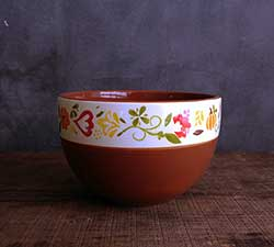 Fall Flora Snack Bowl