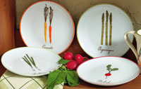 TAG Victory Garden Appetizer Plate