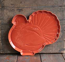 Turkey Shaped Platter