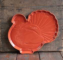 Turkey Shaped Platter