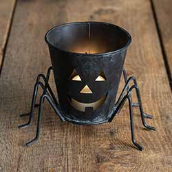 Spider Luminary Bucket