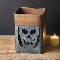 Scary Skeleton Luminary