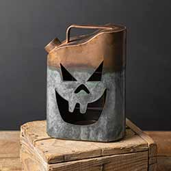 Jack O'Lantern Gas Can Luminary