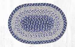 Blue Craft-Spun Placemat