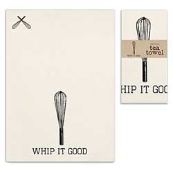 Whip it Good Tea Towel