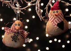 Snappy Snowman Ornament
