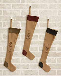Primitive Stockings (Set of 3)