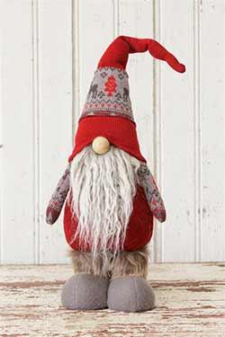 Snow Lodge Standing Gnome