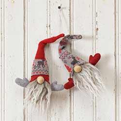 Snow Lodge Gnome Ornament