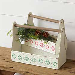 Fair Isle Christmas Caddies (Set of 2)