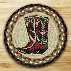 Boots Braided Jute Tablemat
