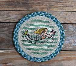 Mermaid Braided Trivet