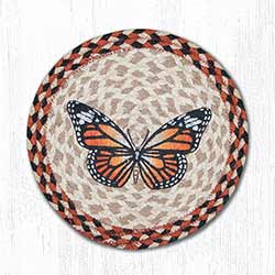 Monarch Braided Tablemat - Round (10 inch)