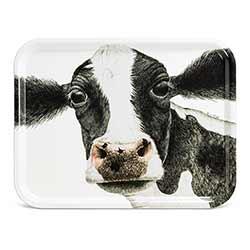 Rosa Cow Tray