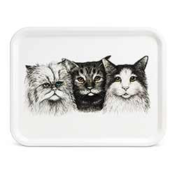 Three Cats Trays