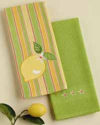 Lemon Kitchen Dishtowel