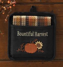 Harvest Blessings Pot Holder Set