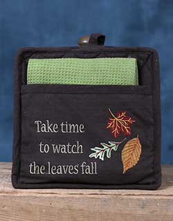 Indian Summer Pocket Pot Holder Set