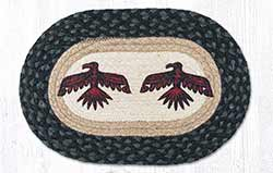 Thunderbird Braided Tablemat - Oval (10 x 15 inch)