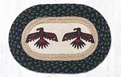 Thunderbird Braided Tablemat - Oval (10 x 15 inch)