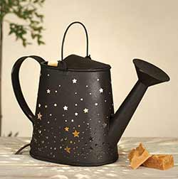 Watering Can Wax Warmer - Rustic Brown