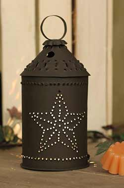 Punched Star Revere Junior Wax Warmer - Rustic Brown
