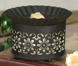 Short Round Daisy Wax Warmer