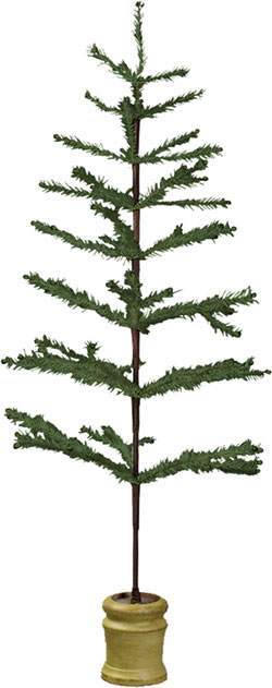 Small Feather Tree - Lighter Green
