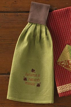 Park Designs Autumn Hanging Kitchen towel