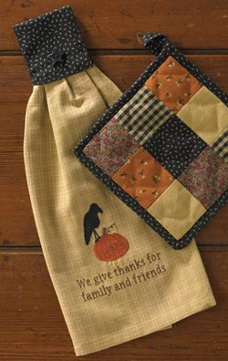 Harvest Blessings Hand Towel