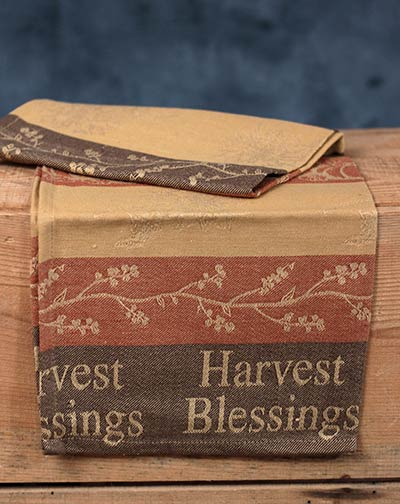 Harvest Medley Jacquard Fall Kitchen Towel