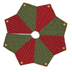 Home for Holidays Tree Skirt - 24 inch
