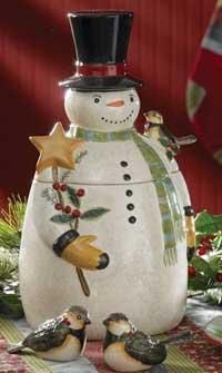 Park Designs Winter Magic Cookie Jar