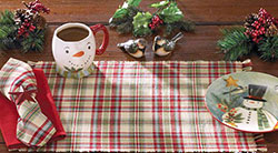 Jingle Bells Christmas Table Runner, 54 inch