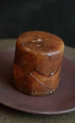 Mustard Primitive Dripped Wax Pillar Candle - 2.25 x 2.25 inch