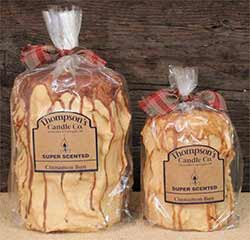 Cinnamon Bun Primitive Pillar Candle - Medium